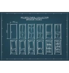 Interior Doors Set vector image