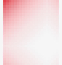 Abstract squares red and white background vector