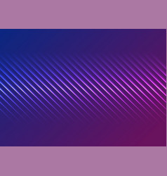 blue ultraviolet neon laser glowing lines abstract vector image