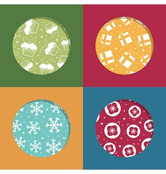 Christmas frames vector
