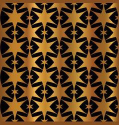 Luxe copper gold on black starry night sky vector