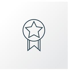 quality icon line symbol premium quality isolated vector image