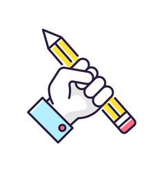 Research rgb color icon vector