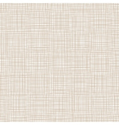 Background With Threads Natural Linen vector image vector image