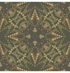 Camouflage background vector image