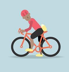 Biker preview vector