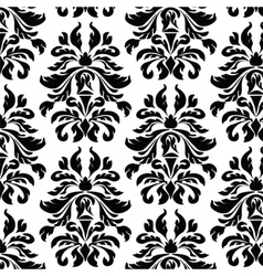 Classic style Acanthus ornament pattern vector image