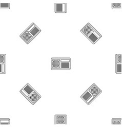 Conditioner fan pattern seamless vector