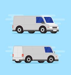 Delivery cargo car transportation vector