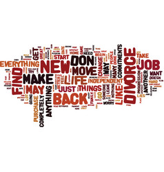 Find a new job and move on text background word vector