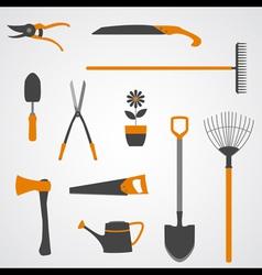 Garden Tools Icons copy vector image