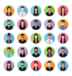 People avatar icon vector