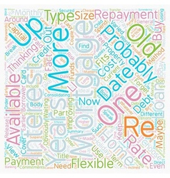 Re mortgages Get Up To Date text background vector
