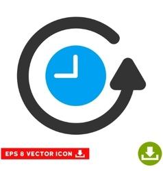 Restore Clock Eps Icon vector