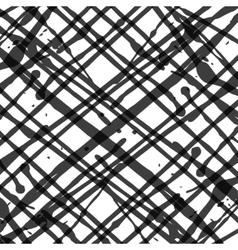 set ink blotsBlack blot on a white vector image