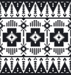 southwest american indian aztec navajo pattern vector image