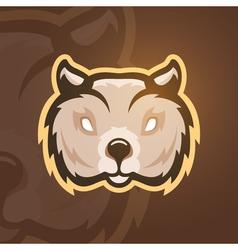 wombat Sport mascot vector image