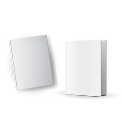 Blank book covers vector image