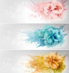 Floral Design vector image vector image