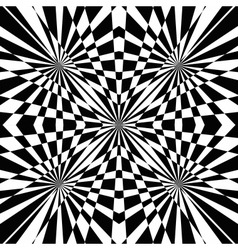 black and white abstract background vector image vector image
