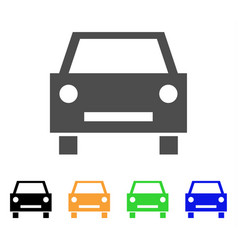 car icon vector image vector image