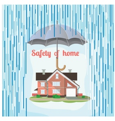 safety of home vector image