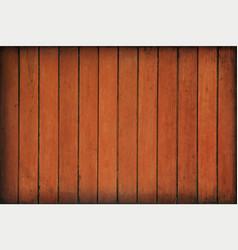 Brown vintage wooden planks background vector