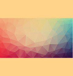 composition of triangles geometric shapes and vector image