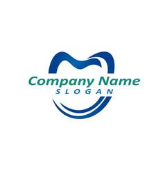 dentist logo 3 vector image