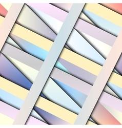 Diagonal strips pattern vector image