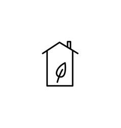 eoc house icon vector image