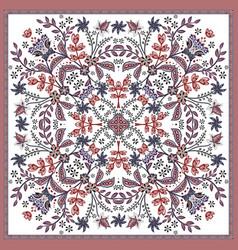 fantastic flower ornament beautiful vector image