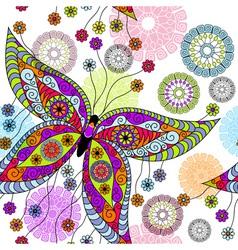 floral spring pattern vector image