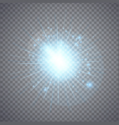 glowing lights effects vector image