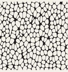 organic irregular rounded jumble shapes vector image