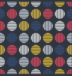 pop art seamless stylish pattern - repeatable vector image