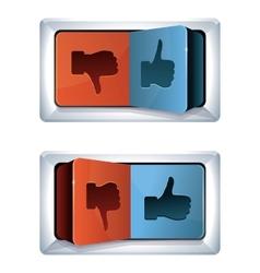 Social media internet concept vector