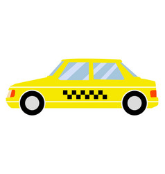 Taxi car vector
