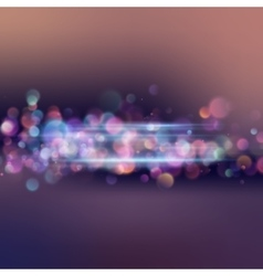 Abstract background with magic light EPS 10 vector image vector image