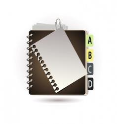 Addressbook vector
