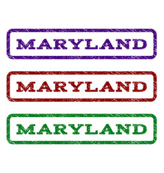 maryland watermark stamp vector image