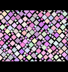 colorful seamless pattern with squares modern vector image