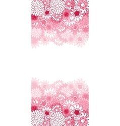 Beautiful color floral card vector