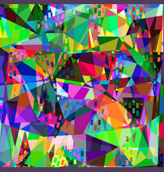 coloful abstract geometric texture for design vector image