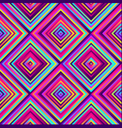 crazy squares - bright geometric pattern with vector image
