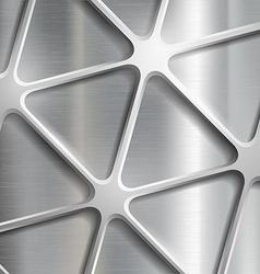 Metallic pattern Stock vector