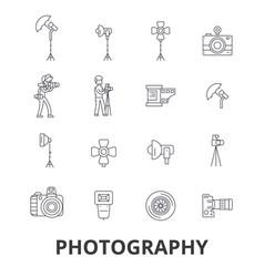 photography photographer camera photo studio vector image