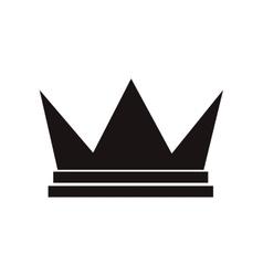 royalty crown icon vector image