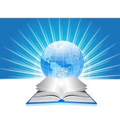 world library vector image vector image