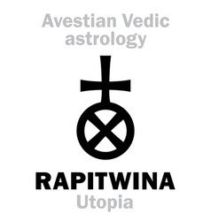 Astrology astral planet rapitwina utopia vector